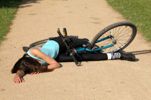 woman-bicycle-accident