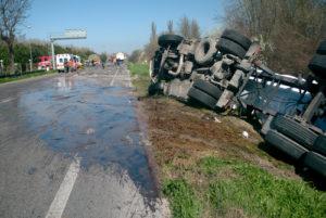 tractor trailor accident trenton nj