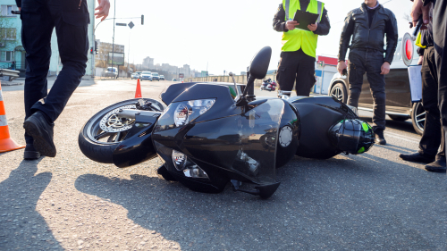 how long a motorcycle accident case takes